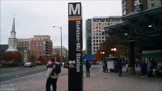 Ballston-MU Metro Station - Washington DC Metro Orange/Silver lines
