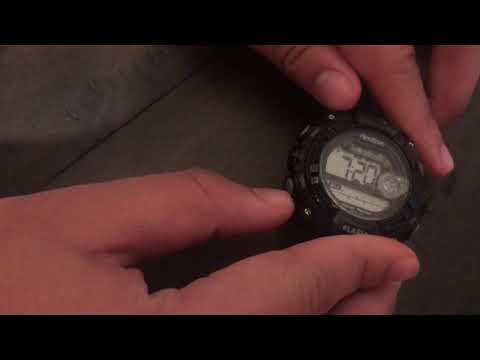 How To Start And Cancel The Alarm On The Armitron Watch Easy Short Video