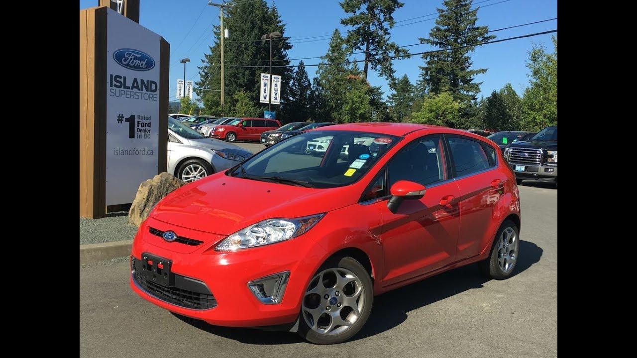 2012 Ford Fiesta SES, Push Start, Power Release Trunk