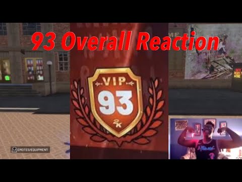 "NBA 2K19 93 OVERALL REACTION! - ""Da Return Of DaGameChanga"" 💯⚡️🔥"