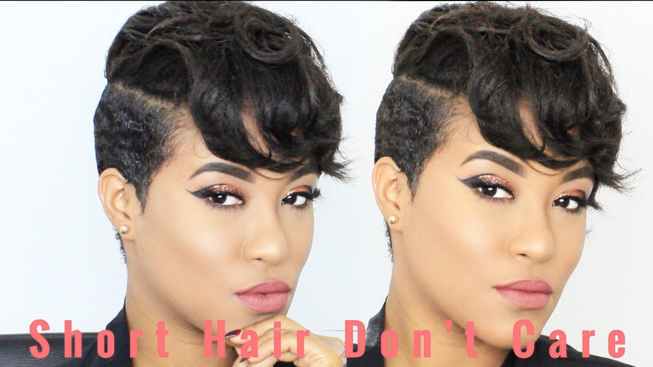 How To Dry Curl and Style My Short Hair