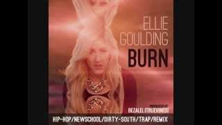 Ellie Goulding -  Burn (MP3) - Remix with Lyrics