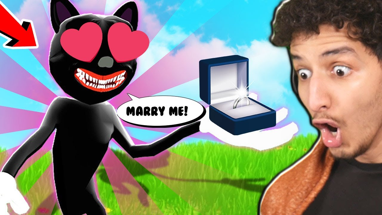 I had to get MARRIED to CARTOON CAT... 😳