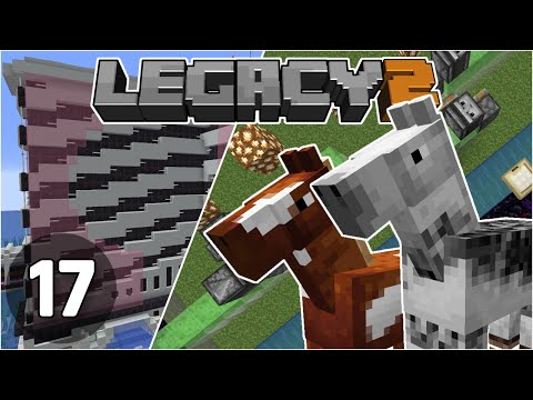 Horse Farm & Back on Top - Legacy SMP 2: #17 | Minecraft 1.16 Survival Multiplayer