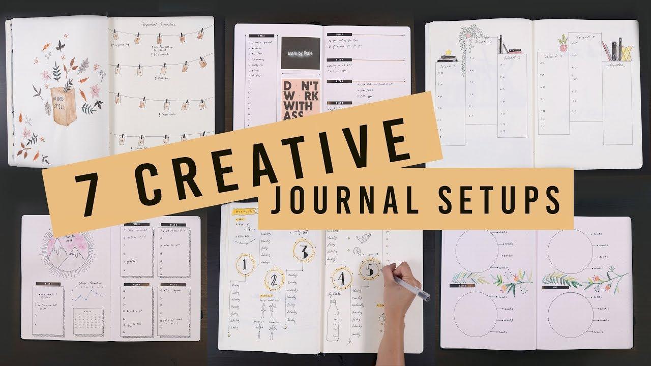 Artistic Creative Journals