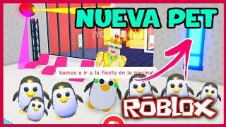 COMO CONSEGUIR EL PINGUINO EN ADOPT ME ROBLOX (ICE CREAM UPDATE ADOPT ME) adopt me pet