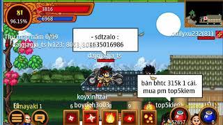 Ninja School Online | Hướng Dẫn cách mua xu x20 5sv bằng thẻ mobi 50k và 100k