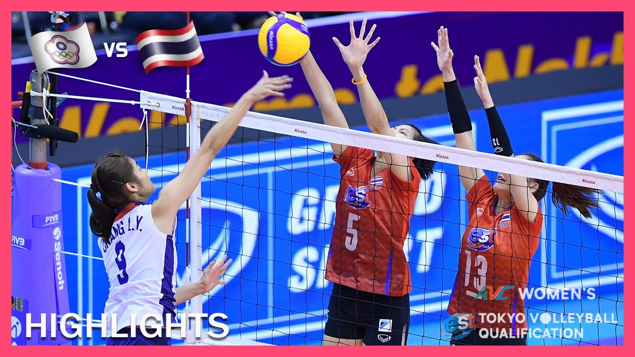 Taiwan vs Thailand | Highlights | Jan 07 | Women's Asian Tokyo Olympic Volleyball Qualification