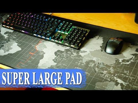 Карта мира XL ковер для мыши 💻 - большая игровая поверхность