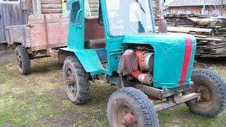 Набор для мини трактора. Как соединить двигатель Д-21 и КПП ГАЗ.