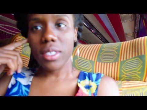 Ghana 2015  Vlog # 5  Heading Home to Kumasi!