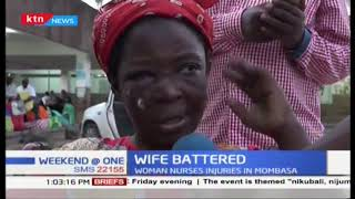 Battered wife nurses injury in Mombasa over failing to buy vegetables