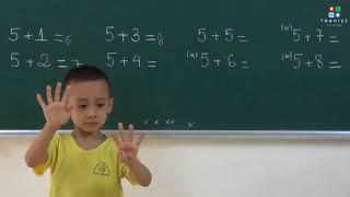 Hoc Toan chuan bi vao lop 1 - P5 (Hoc vui - Vui hoc)
