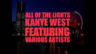 Gambar cover Kanye West - all of the lights (feat. Rihanna) HQ