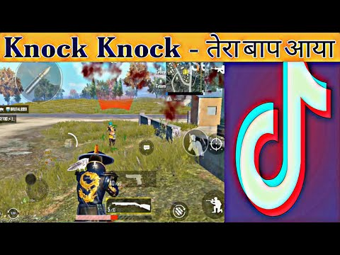 Rush Gameplay | Knock knock tera baap aaya | Virel video of Tik-Tok in Pubg mobile | Poco f1
