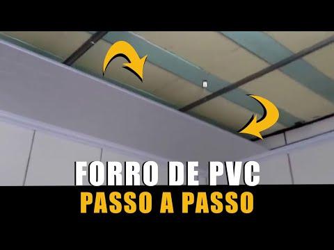 481b95c3306a forro de pvc aprenda passo a passso (PVC Cladding - with subtitles) -  YouTube