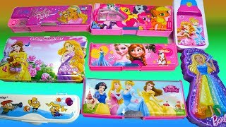 New Collection of Barbie Pencil Box, Disney Princess Pencil for Girls