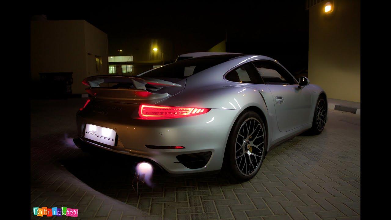 2014 Porsche 991 Turbo S Spitting Flames With Full Fabspeed Motorsport Exhaust