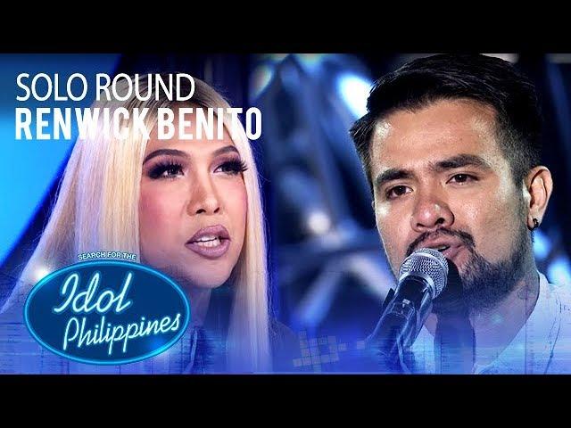 Renwick Benito - Kasalanan | Solo Round | Idol Philippines 2019