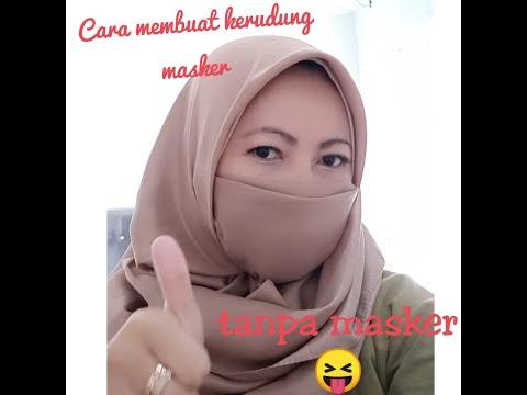 Tutorial Pakai NIQAB dari Hijab Segiempat. Mudah😉.