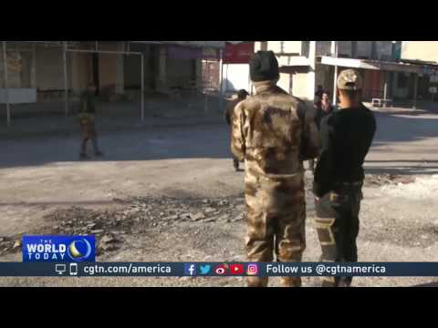 Iraqi forces gain ground in Mosul's eastern district