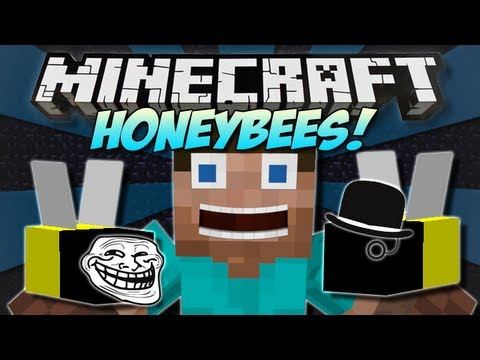 Minecraft | HONEYBEES! (Join the Bee Party!) | Mod Showcase [1.4.7]