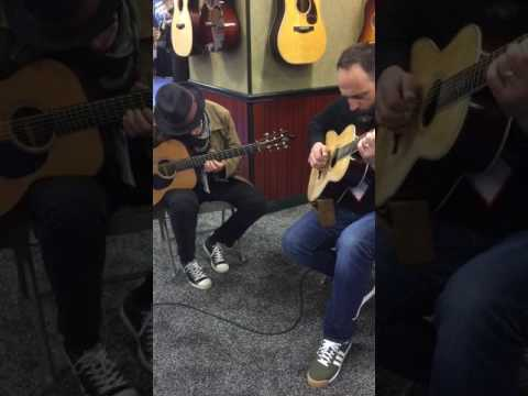 Mark Goldenberg at Santa Cruz Acoustic Guitars