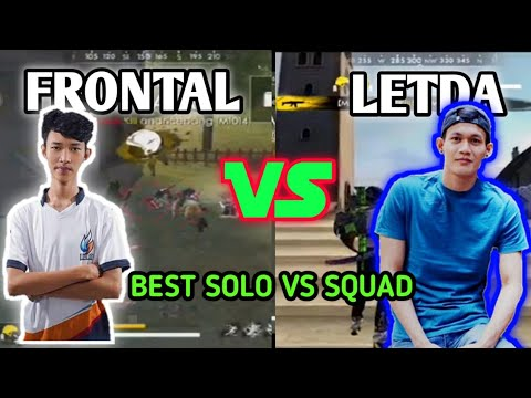 Frontal Gaming Vs Letda Hyper - Mode Solo VS Squad Pro Player