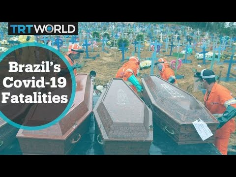 Brazil's fatalities pass 20,000 after record daily death toll