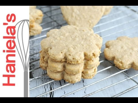 Recipe for Oatmeal Cut Out Decorating Cookies