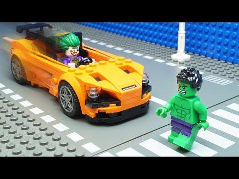 Lego Hulk Car Crash thumbnail