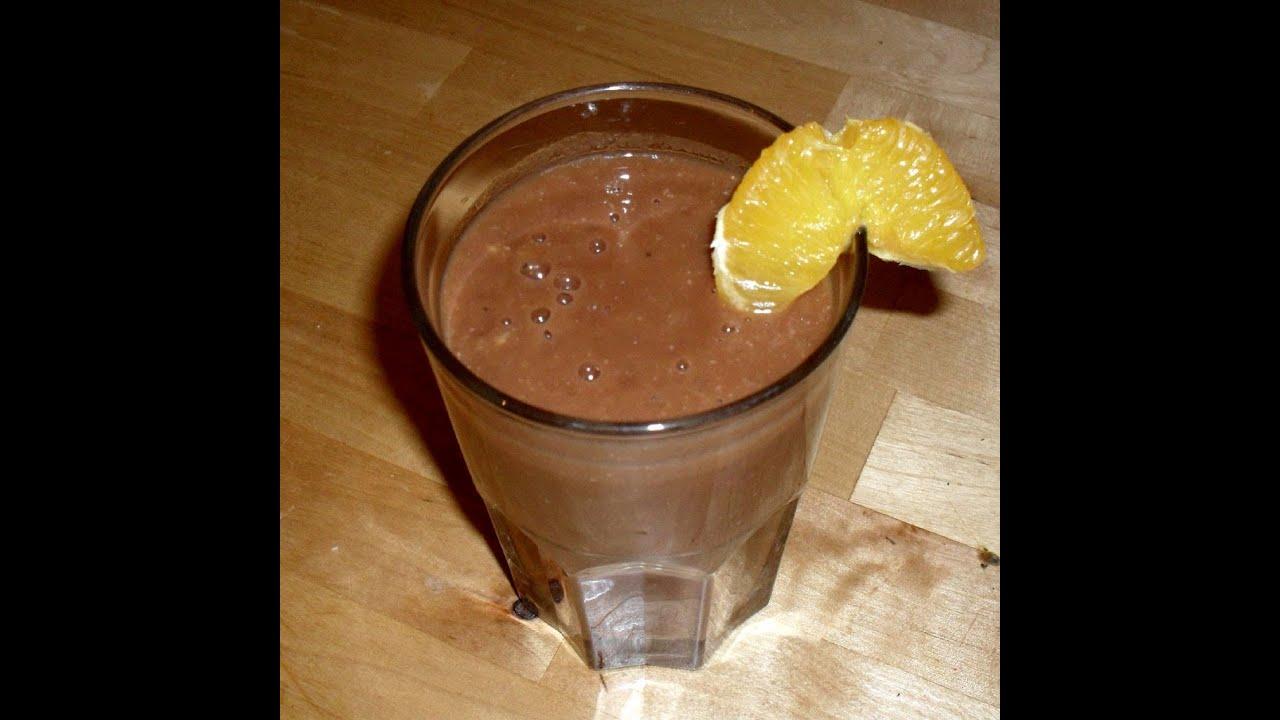 Orangen Bananen Kakao Smoothie - Die leckere und erfrischende Variante zum Frühstück