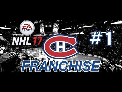 NHL 17 Franchise | Montreal ep. 1 'CHOOSING A PATH'