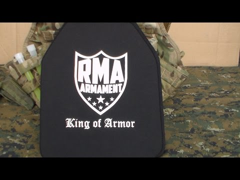 RMA Defense Level III Polyethylene Armor