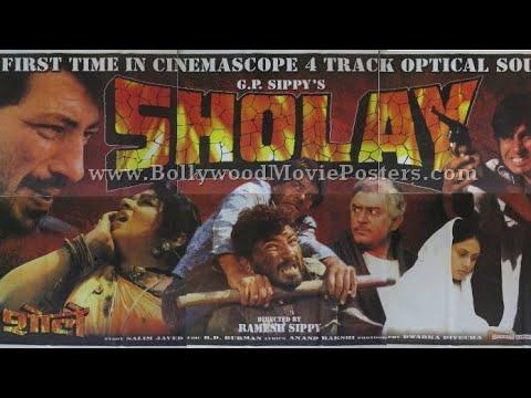 Download Sholay|Dharmendra|Amitabh bacchan|Hema Malini|jaya Bhaduri|sanjeev kumar|Amjad Khan(1975)