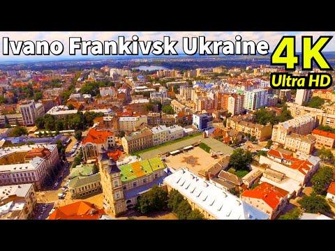 Ivano-Frankivsk, Ukraine in 4K UHD