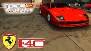 TDU 2 - Ferrari F40! com Logitech G27