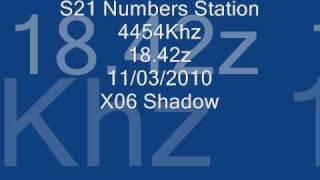 S21 Number Station