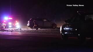 Fatal crash on Highway 138 in Phelan