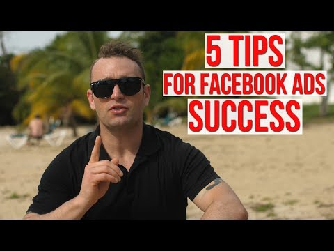 5 Tips For Facebook Ads Success 📈