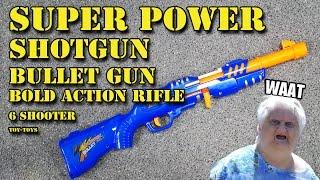 NE-Nerf Super Power ShotGun recenze CZ / SK