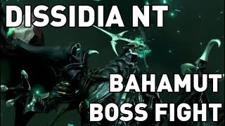 (JP) Dissidia Final Fantasy NT - Bahamut Boss Fight
