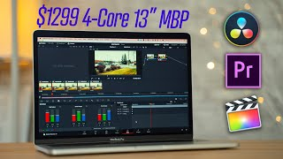 Can the New 2019 Base Macbook Pro Edit 4K Video?