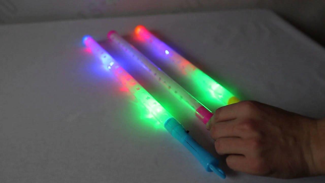Светящаяся палочка своими руками