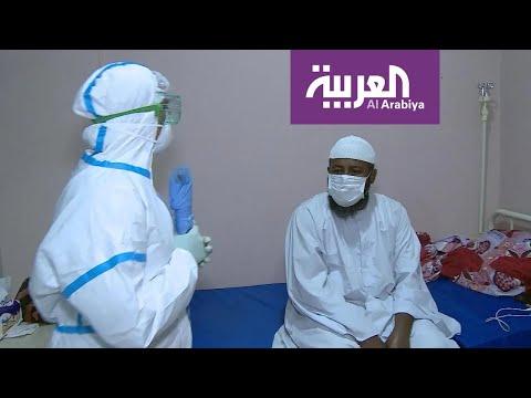 كاميرا العربية تدخل مركز العزل لمرضى الكورونا في الخرطوم  - نشر قبل 4 ساعة