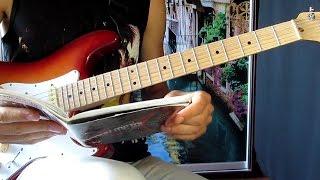 Уроки гитары Электрогитара для начинающих 4/6 Deep Purple