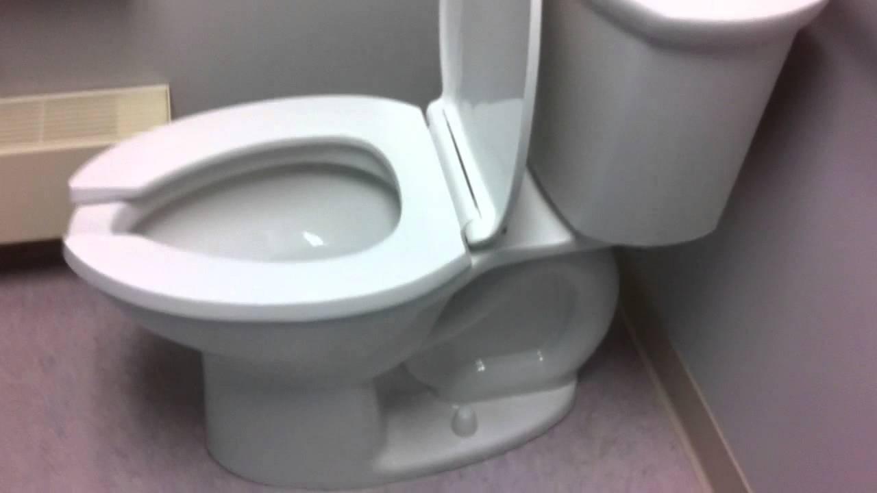 American Standard Toilet At Swimming Pool Youtube