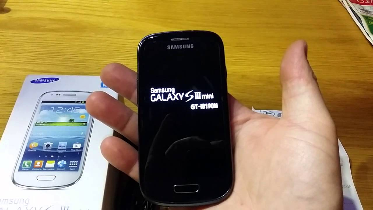 Samsung galaxy ... Galaxy S3 Mini Black
