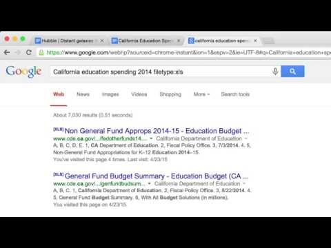 Google Advanced Search: What more can Google Search do for me?