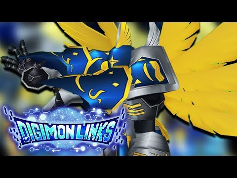 PLEASE SOMEONE CARRY ME! Digimon Links Advent Beginnings Seraphimon Gameplay | Digimon Links!